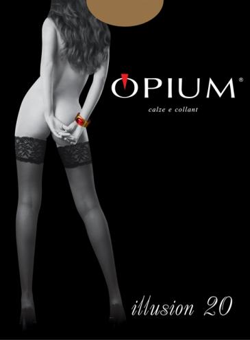 Чулки Opium Illusion 20