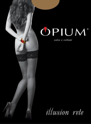 Чулки Opium Illusion Rete
